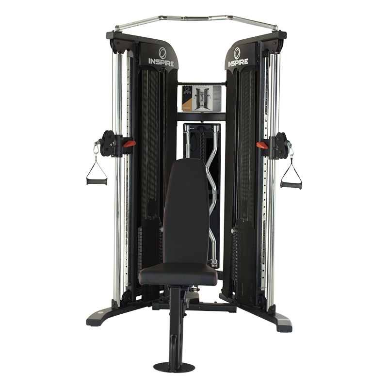 Inspire FT1 Functional Trainer with bench