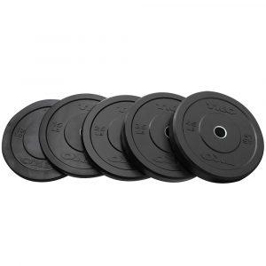 TKO Rubber Bumper Plates