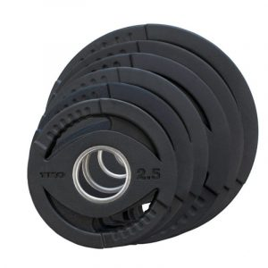 TKO Olympic Rubber Grip Plates