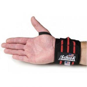 Schiek model black line wrist wraps