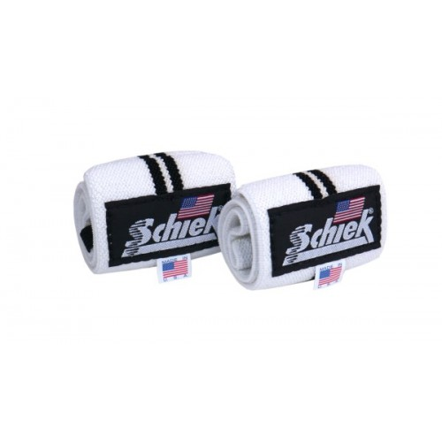 Schiek Line Model wrist wraps, heavy duty cotton elastic wraps
